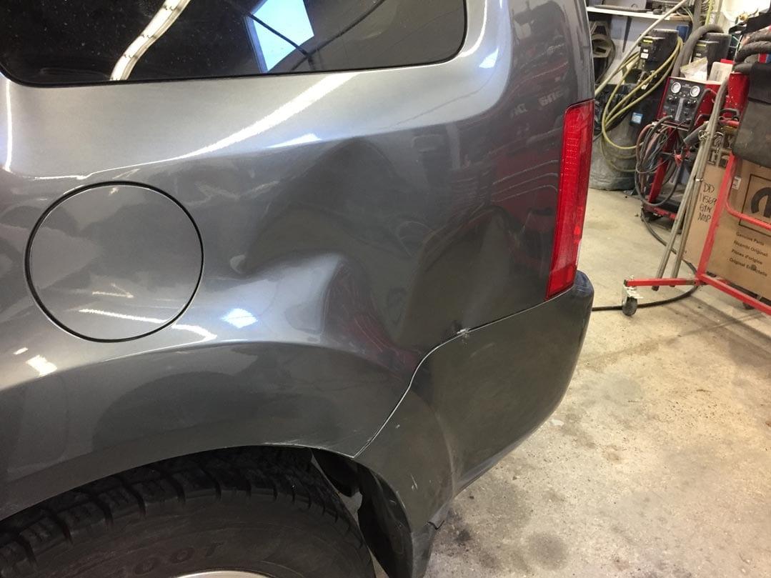Before Paintless Dent Repair